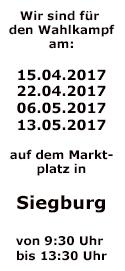 Wahlkampf 2017